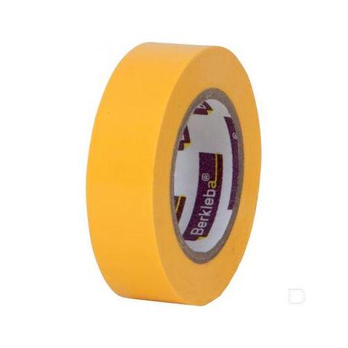 Isolatietape 19 mm geel per rol