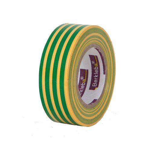 Isolatietape 19 mm geel/groen per rol