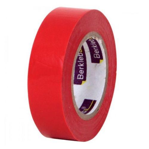 Isolatietape 19 mm rood per rol