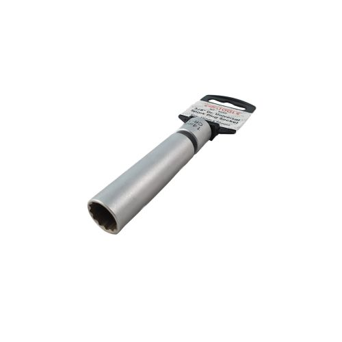 """Bougiedop 3/8"""" met kniegewricht BWM 14 mm"""